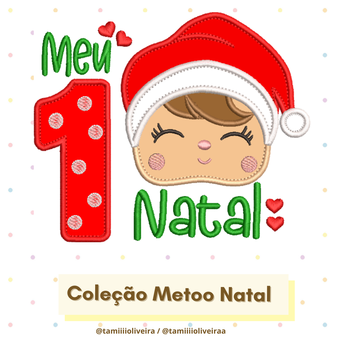 Matrizes de Bordado - Metoo Natal