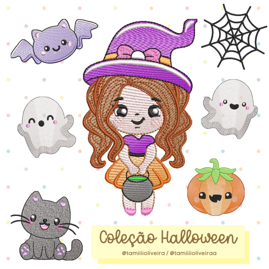 Matrizes de Bordado - Mini Coleção Halloween