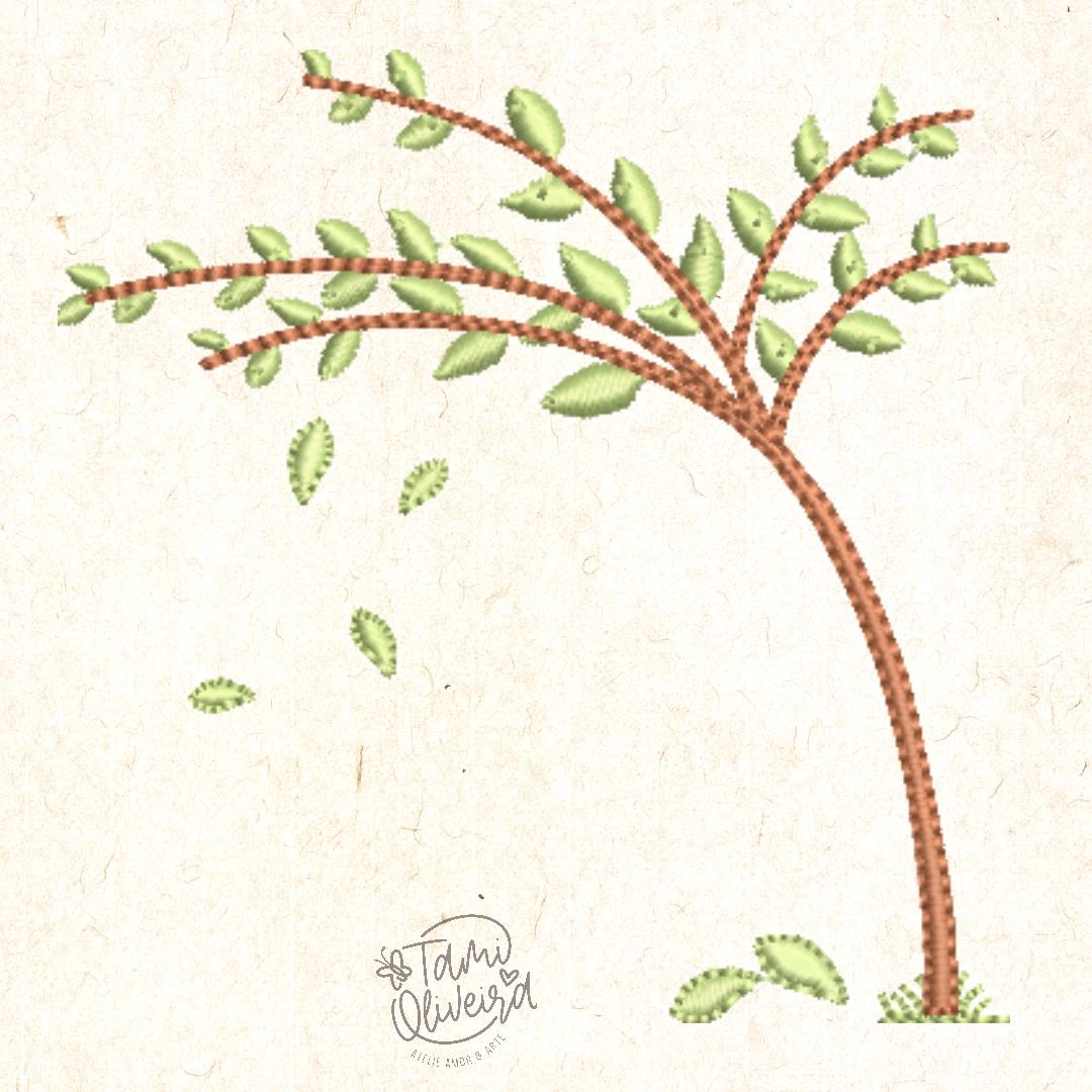 Matriz de bordado - Árvore Tami