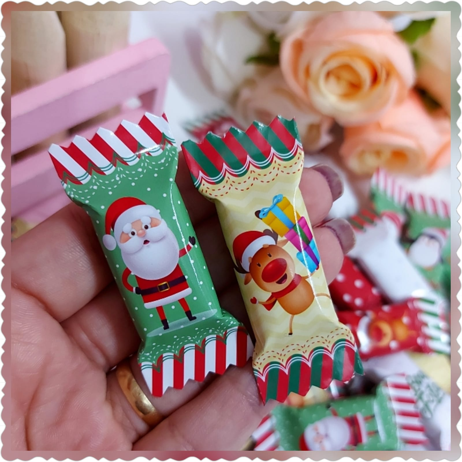 Kit Digital Balinhas de Natal 1